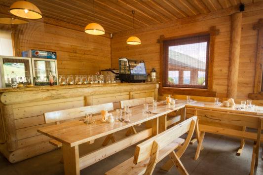 wnętrze restauracji Karpatka